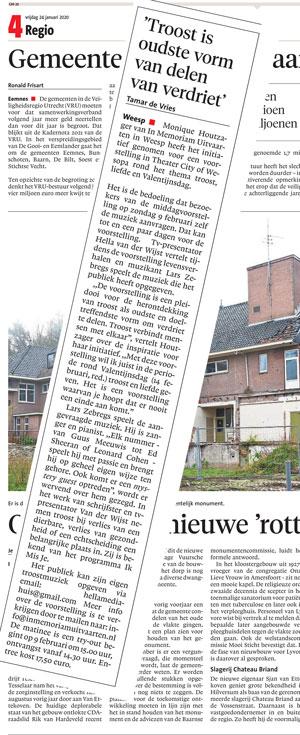 Persbericht Gooi en Eemlander